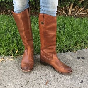 FRYE hardly worn tall riding boots